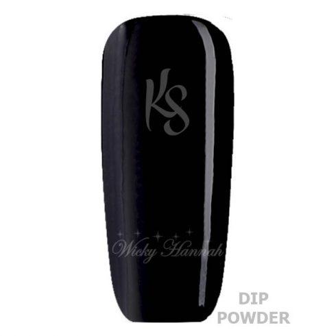 black to black dip powder
